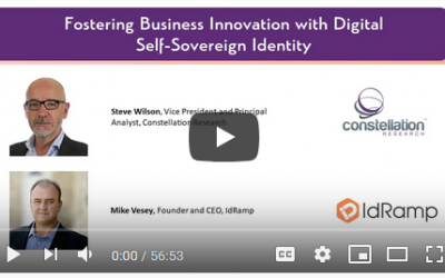 Digital Identity and Continuous Innovation